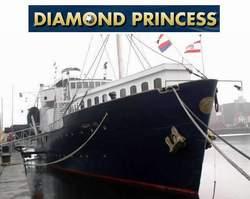 Floatel Diamond Princess Hotel Antwerp Belgium