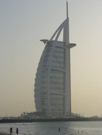 Burj Al Arab Hotel Jumeira Dubai, UAE