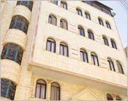 Tetropylon Hotel Palmyra Syria
